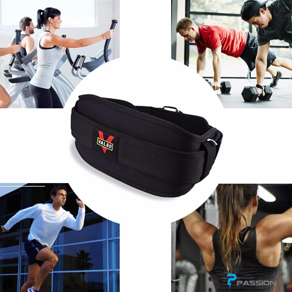 Đai lưng hỗ trợ tập gym chính hãng Valeo PK24
