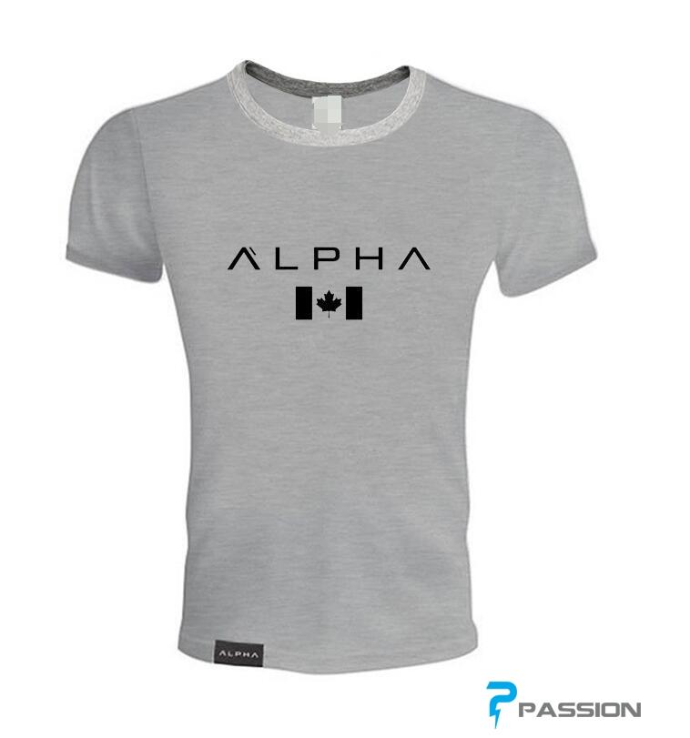 Áo tập gym nam Alpha A37 (đen )