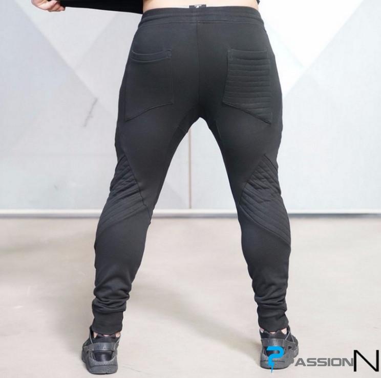 Quần Jogger tập gym cho nam Body Engineers  Z14 (Màu xám)