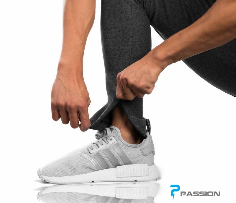 Quần jogger nam tập gym cao cấp Z101 màu xám