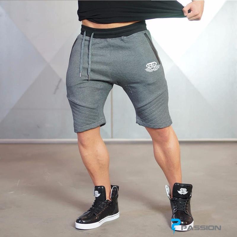 Quần short tập gym nam Body Engineers Z01 (màu đen)
