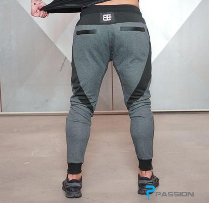 Quần tập gym nam Body Engineers Z24 (đen)