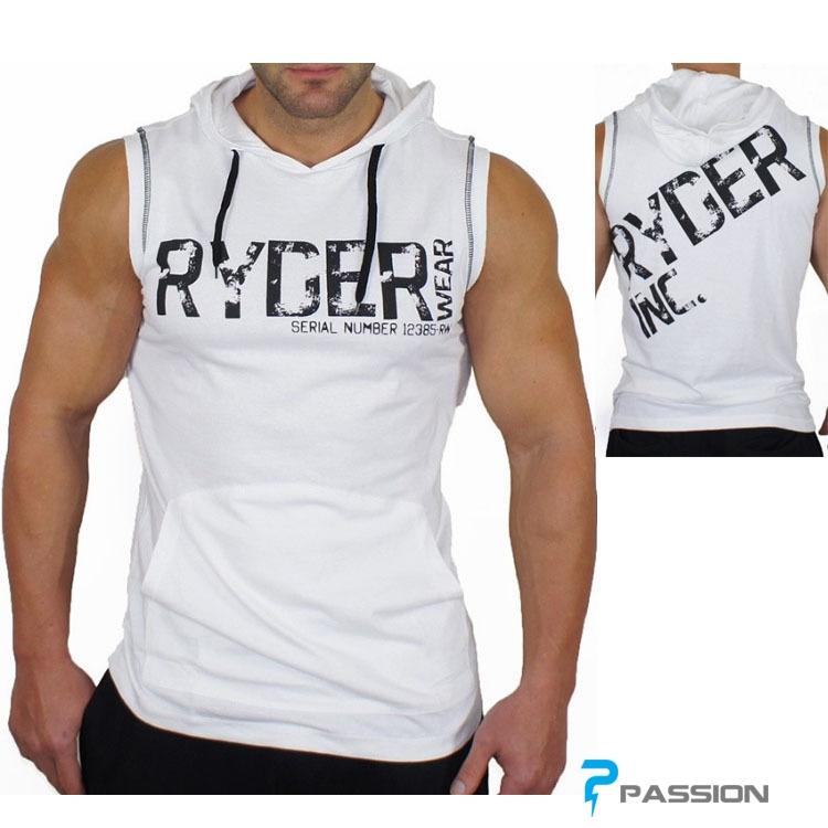 Áo ba lỗ có mũ Ryder Đẹp cho Gymer A210
