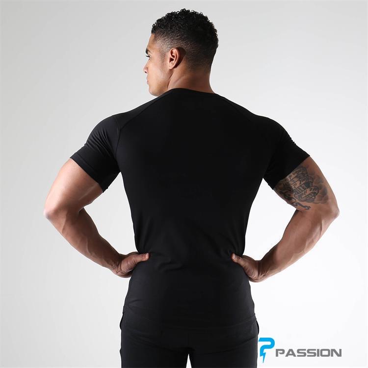 Áo tập gym nam Gymshark A30 màu đen