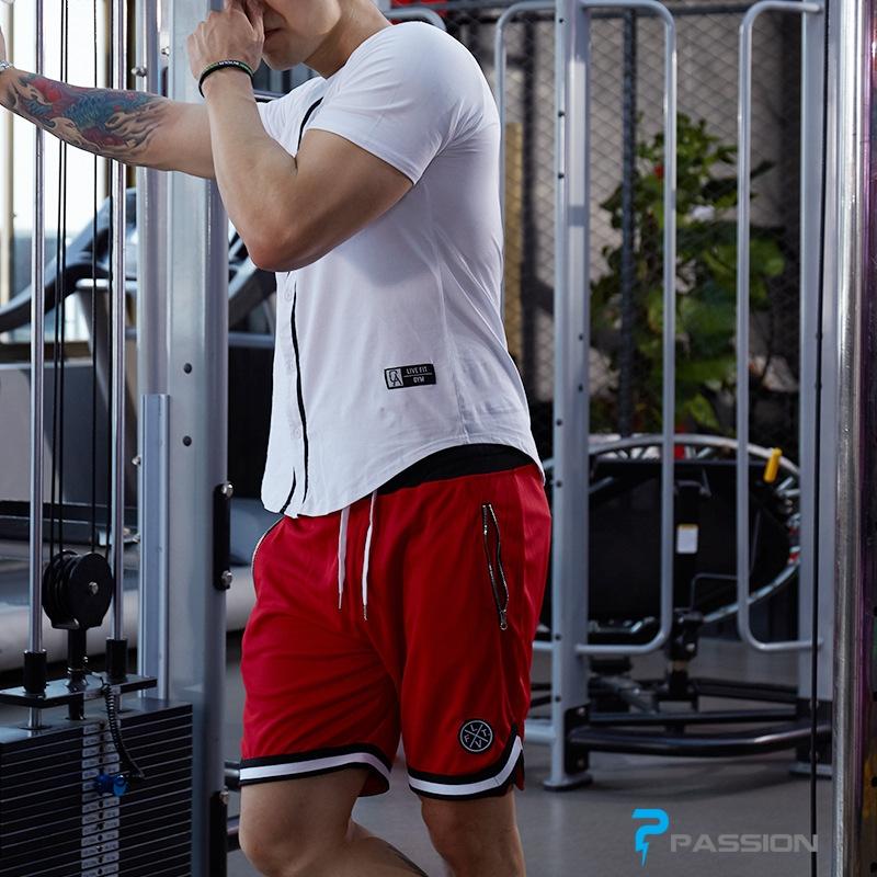 Quần short tập gym nam LVFT Z76 (màu đen)