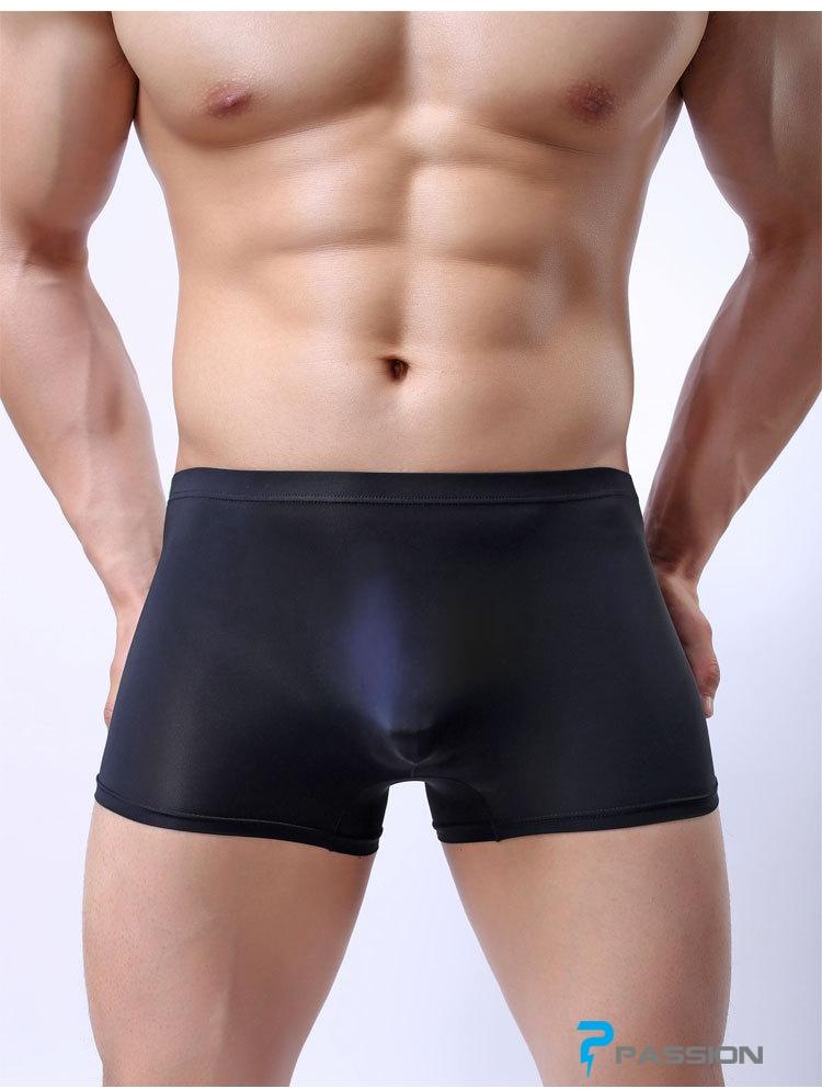 Quần lót Boxer nam vải mỏng trong suốt thấy cu QL16