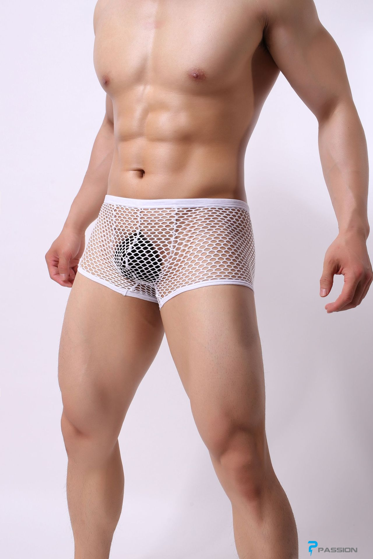Quần lót nam lưới sexy trong suốt thấy cu gợi tình QL222