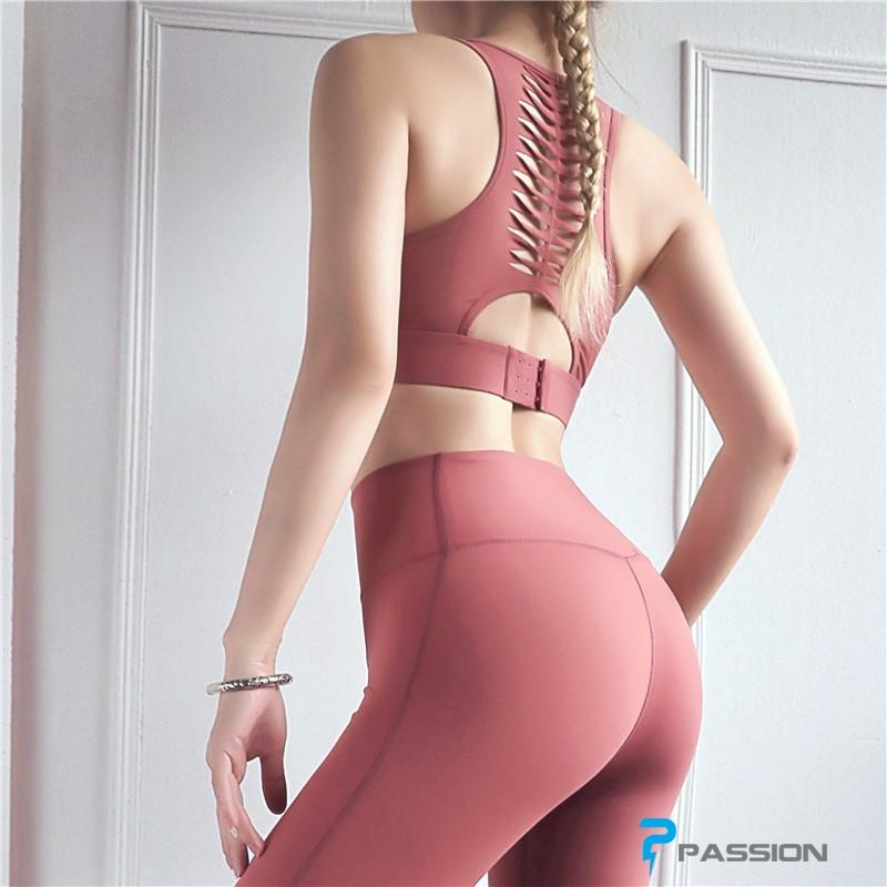 Áo thể thao Gym Yoga nữ cao cấp G113 (màu hồng)