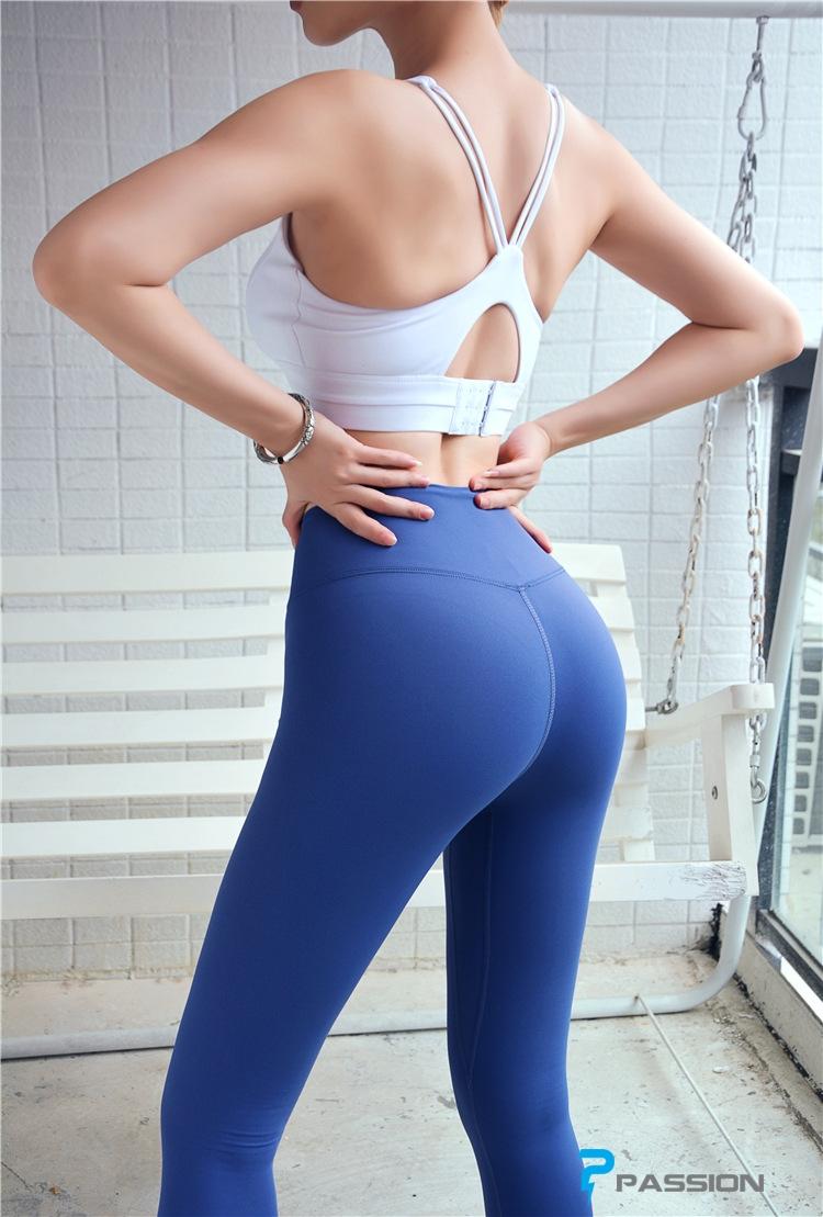 Quần legging gym nữ cao cấp G116 (màu xám)