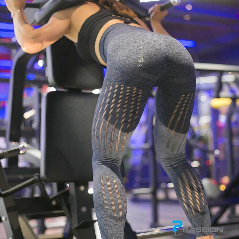 Quần legging gym nữ cao cấp G117 (màu xám)