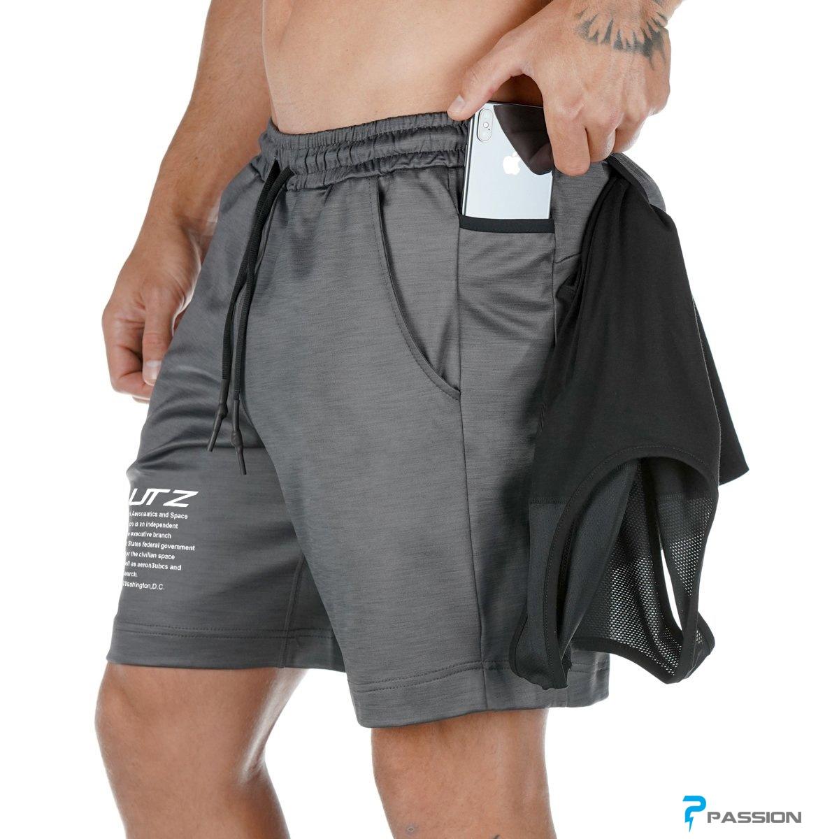 Quần đùi butz  tập gym nam Z158