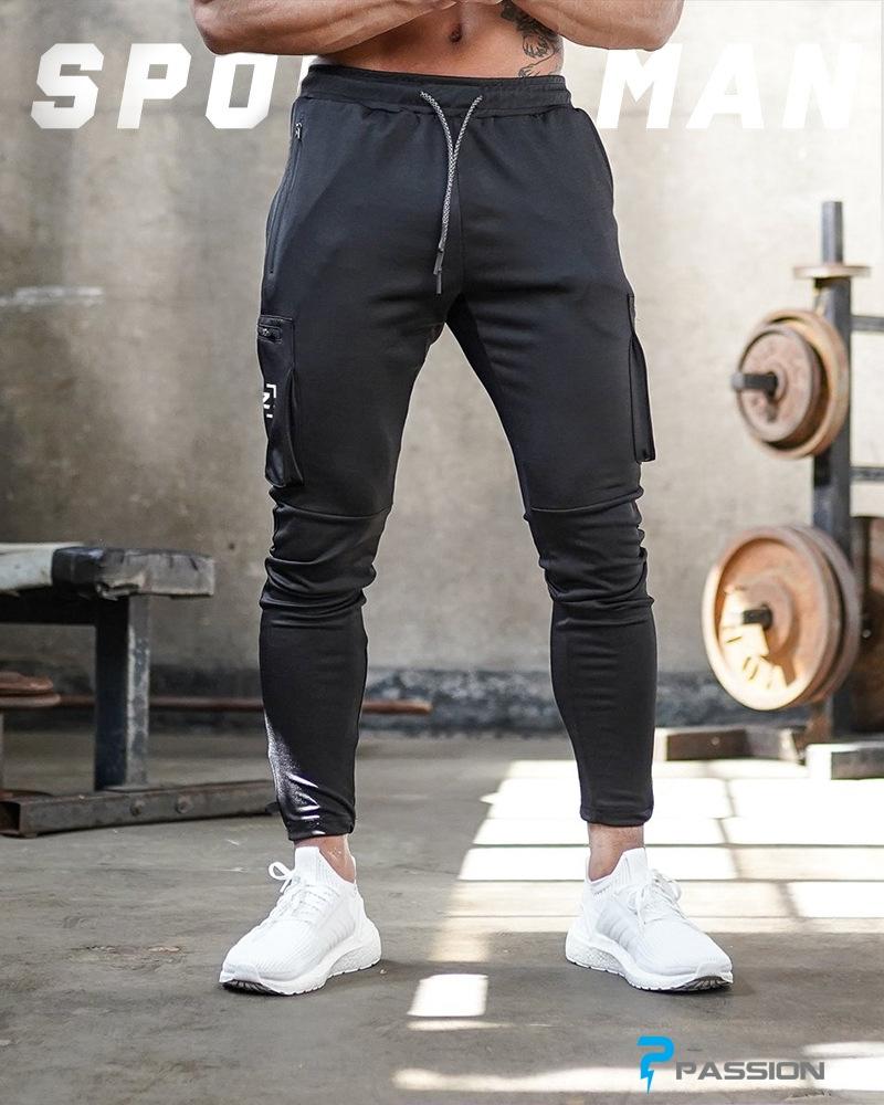 Quần Jogger  tập gym nam BUTZ Z163