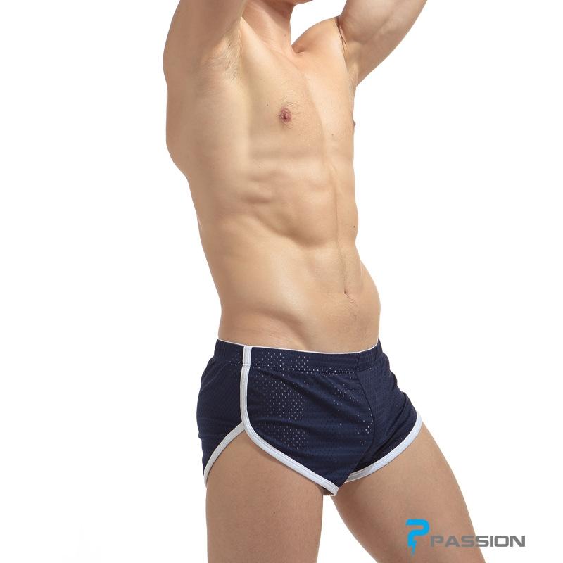 Quần lót nam Boxer có lỗ thoáng khí QL01 màu xanh