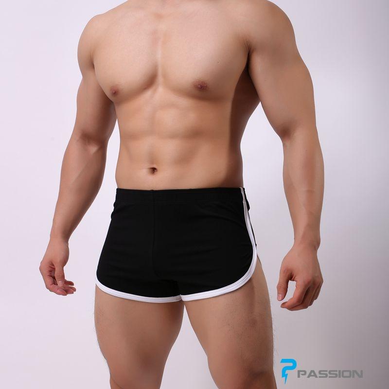 Quần ngủ,quần đi bơi nam tôn dáng đẹp QL12 màu đen