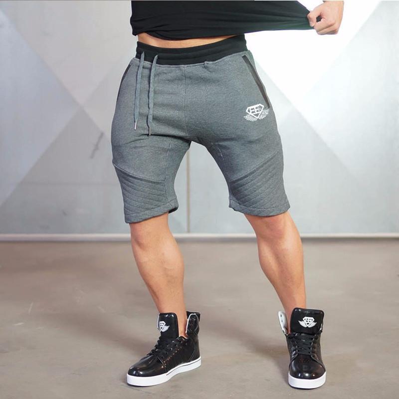 Quần short tập gym nam Body Engineers Z01 (màu xám)