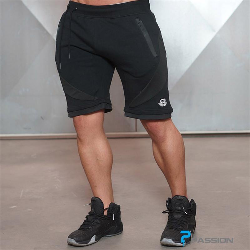 Quần short tập gym nam Body Engineers Z02 (màu đen)