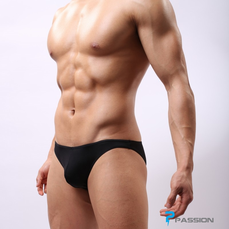 Quần lót nam Bikini thun lạnh đẹp sexy khiêu gợi QL230 (màu đen)