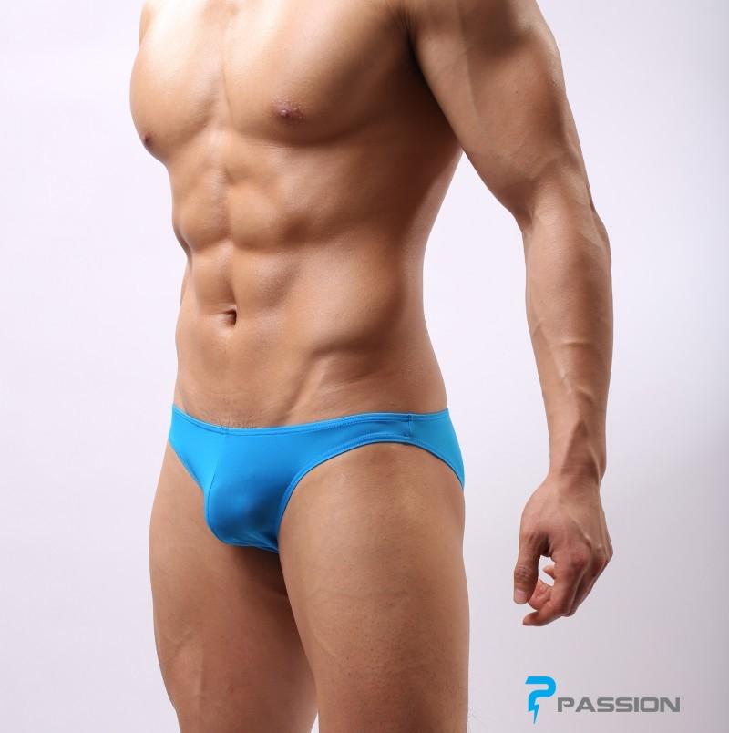 Quần lót nam Bikini thun lạnh đẹp sexy khiêu gợi QL230 (màu xanh)
