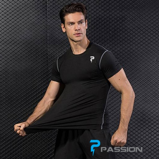 Áo body tập gym nam Gym Passion A92