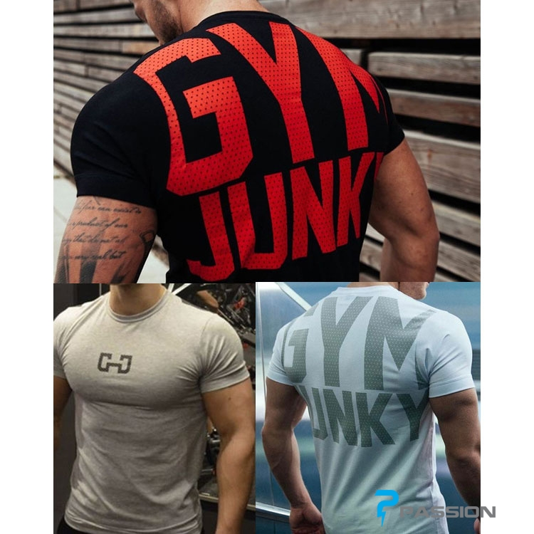 Áo tập gym nam Junky A81
