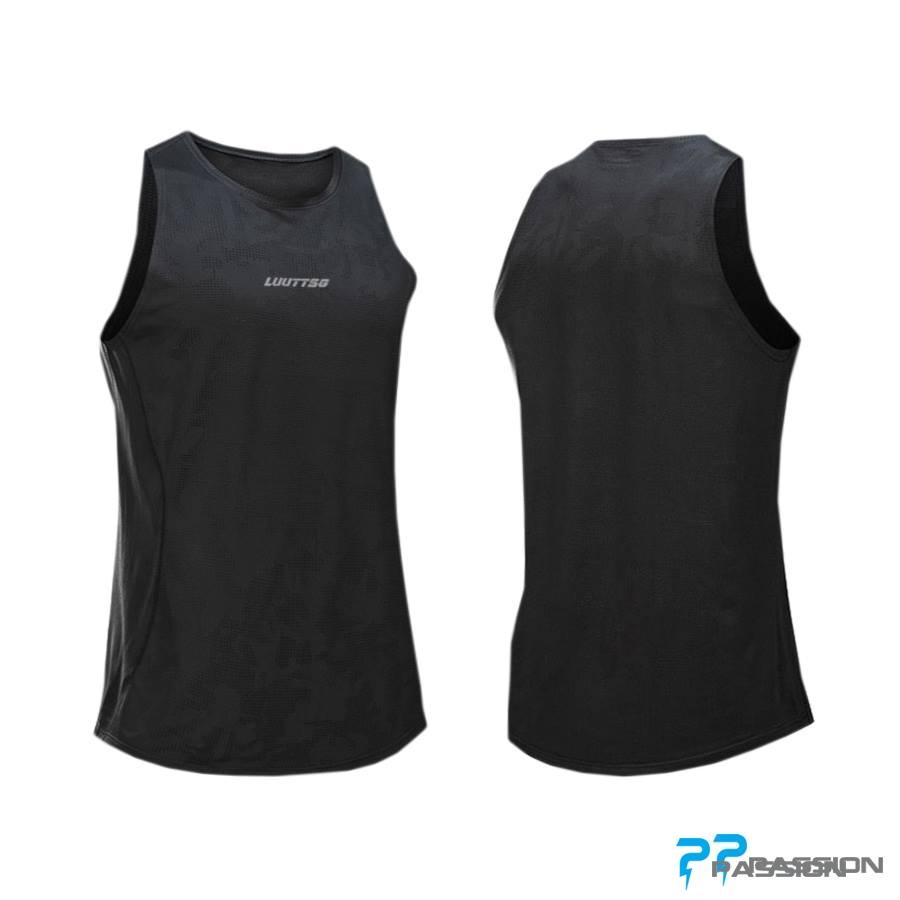 Áo tập gym nam Tanktop Uabrav A115 (màu đen)