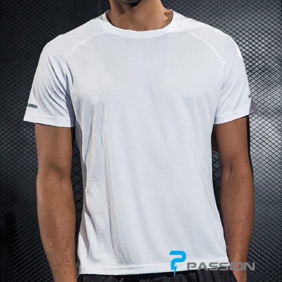Áo thun tập gym nam tay ngắn Uabrav A116 (màu trắng)
