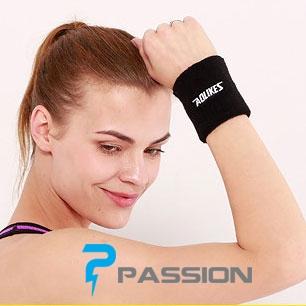 Băng cổ tay tập gym thấm mồ hôi AOLIKES PK11 (1 chiếc)