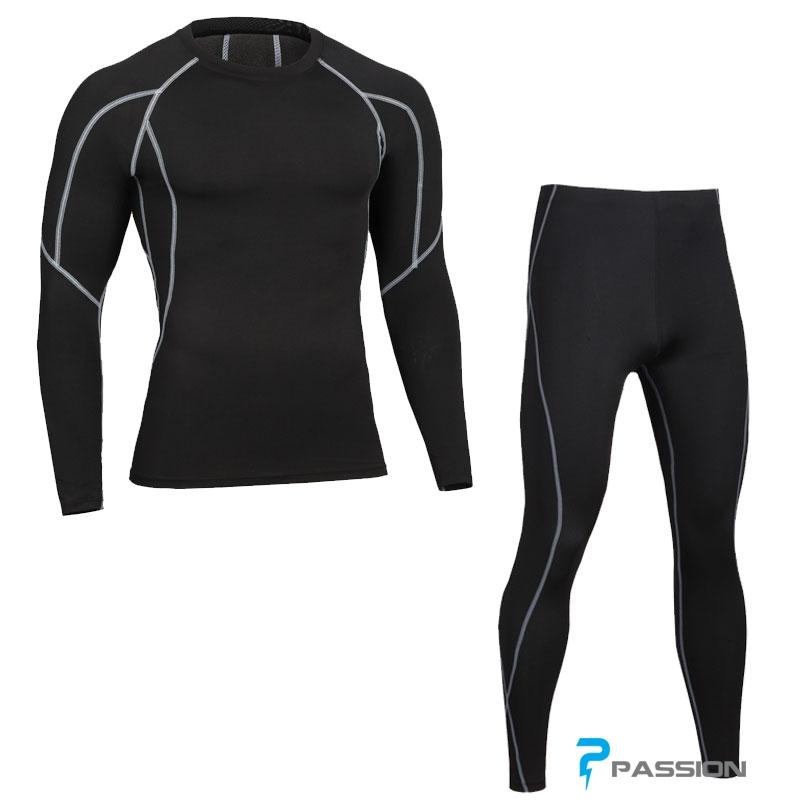 Combo quần áo legging nam tập gym cao cấp CB04
