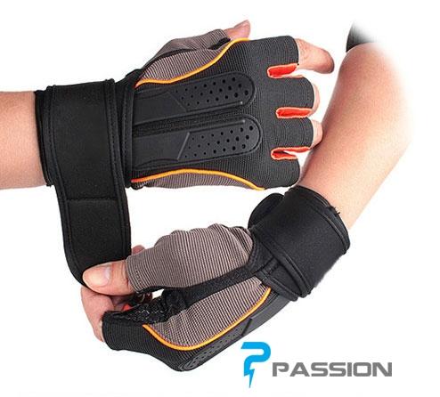 Găng tay tập tạ nam nữ cao cấp Pk08
