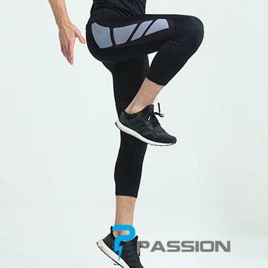 Quần legging nam tập gym 3/4 Z90