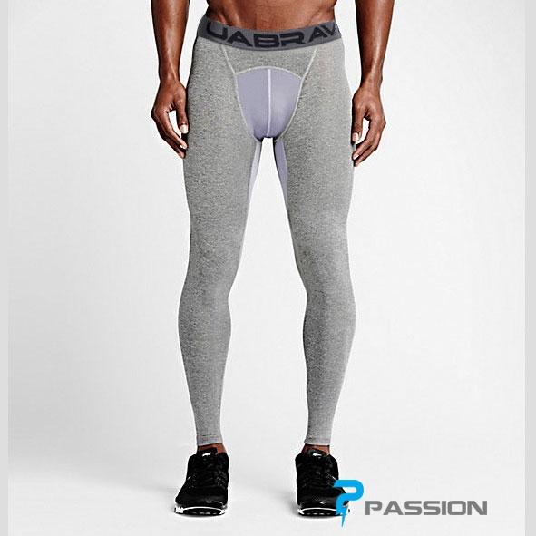 Quần legging nam tập gym dài Uabrav Z94 (màu xám)