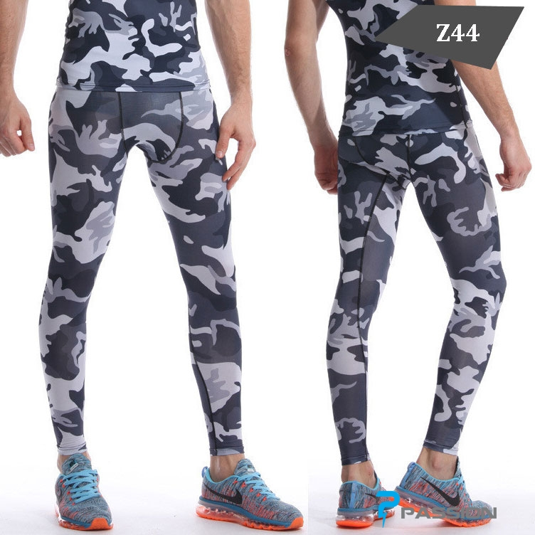 Quần legging nam tập gym nam Z44 rằn ri