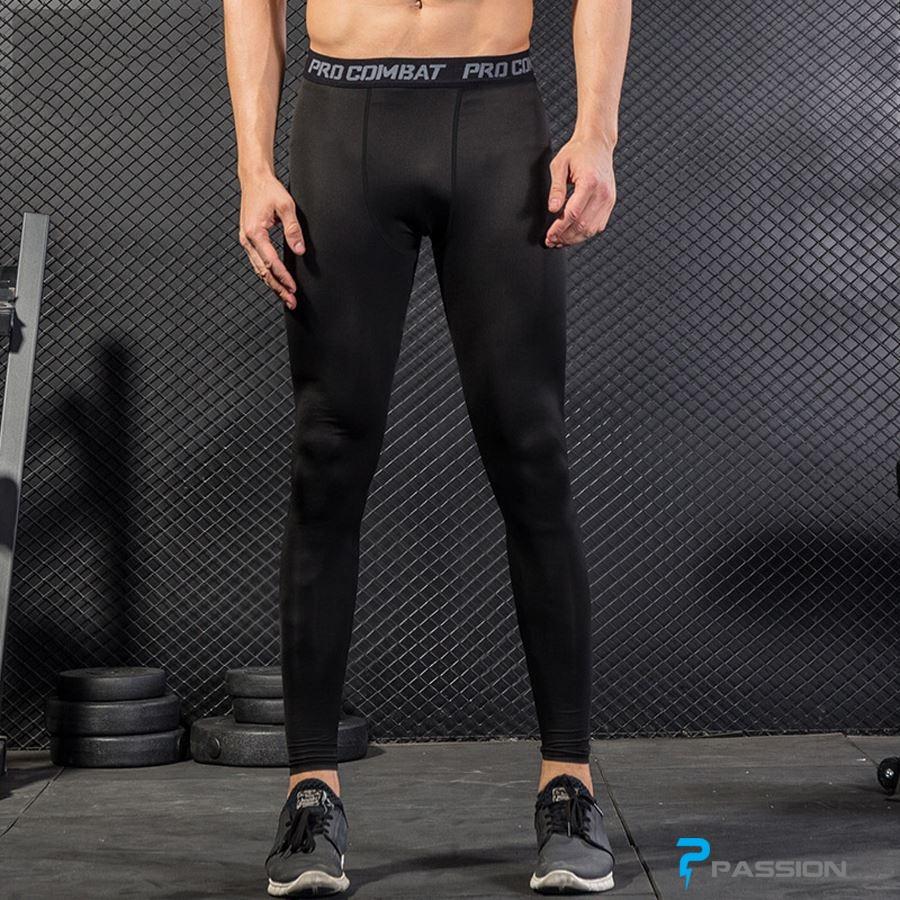 Quần legging tập gym nam cao cấp pro combat Z31