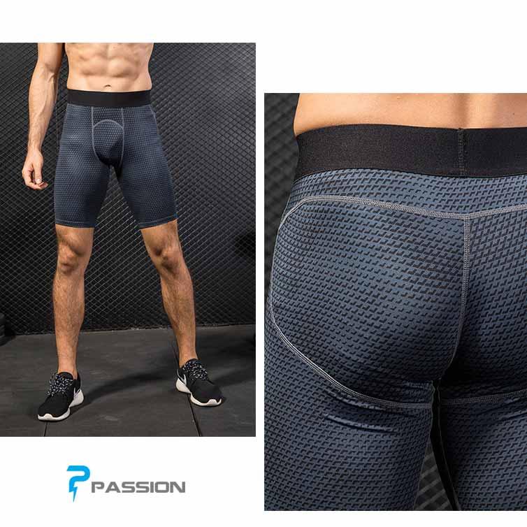 Quần legging ngắn tập gym nam cao cấp Z83