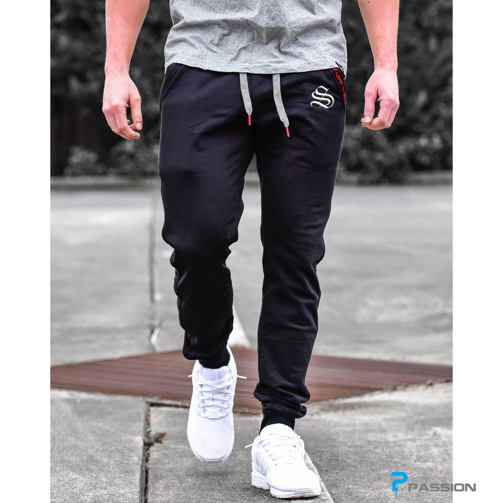 Quần tập gym Jogger Stronglift Wear z150 đen