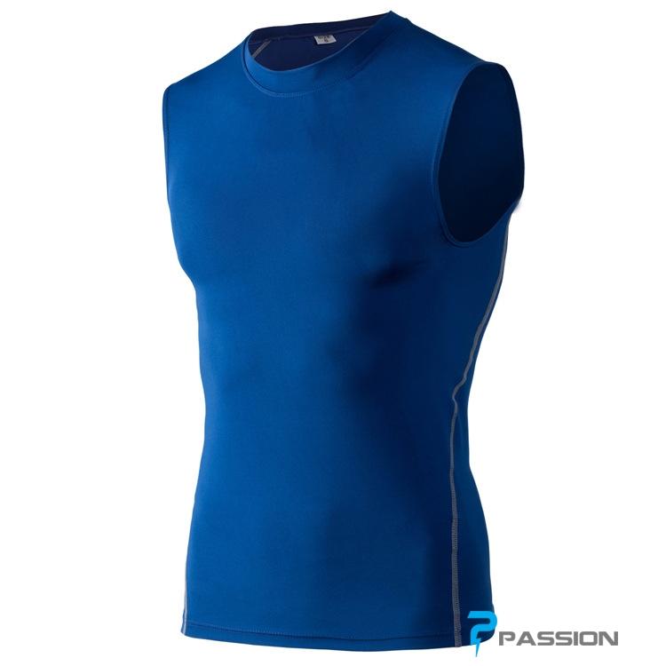 Áo sát nách tập gym nam A117 (màu xanh dương)