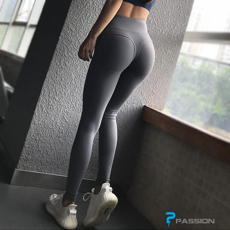 Quần tập gym nữ cao cấp G101 (màu xám)