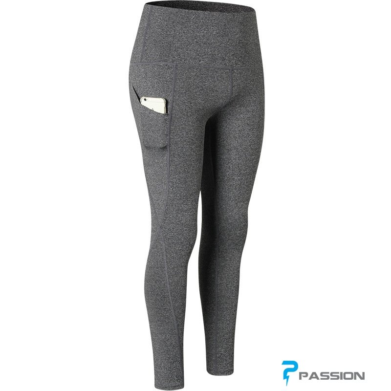 Quần legging gym nữ cao cấp G105 (màu xám)