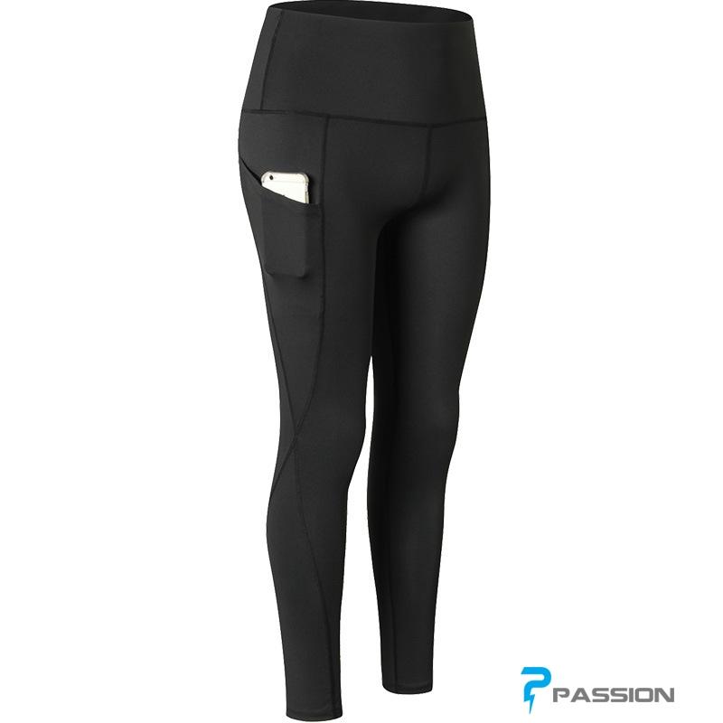 Quần legging gym nữ cao cấp G105 (màu đen)