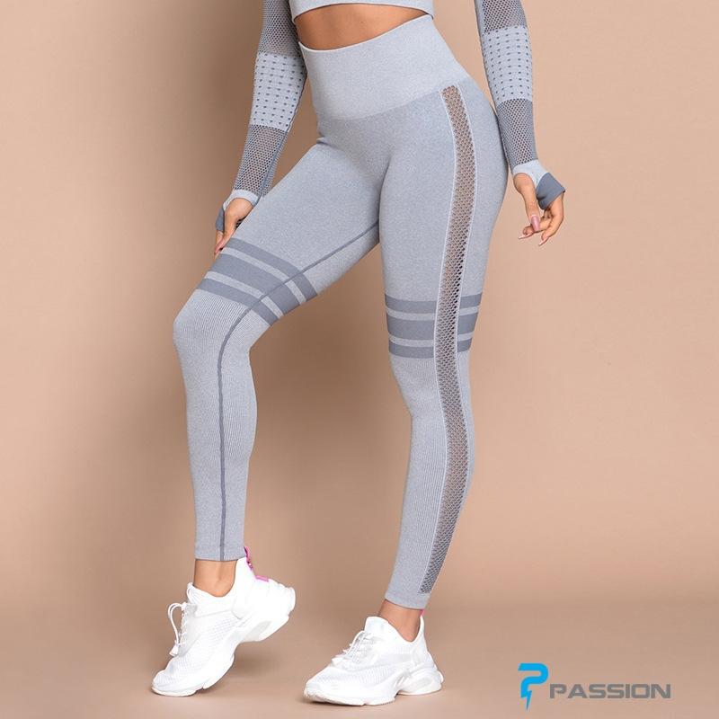 Quần legging gym nữ cao cấp G118 (màu xám)