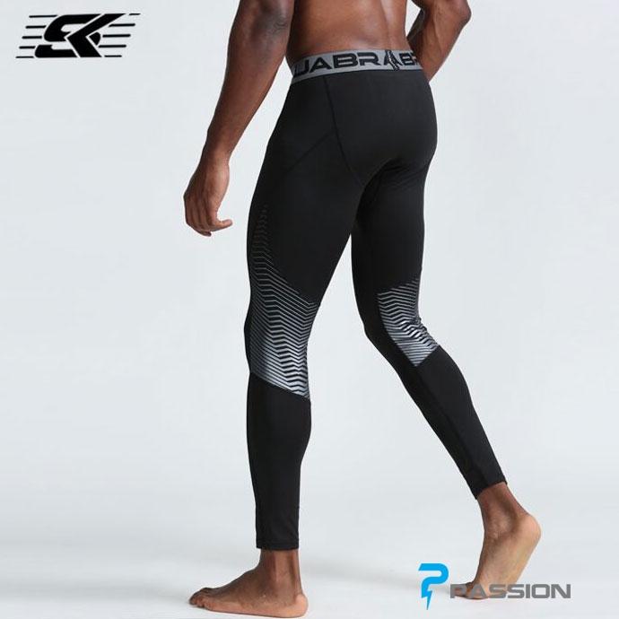 Quần legging tập gym nam Z154 (màu đen)