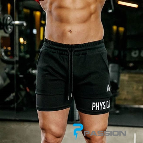 Quần shorts Squat 2in1 Gym nam z187